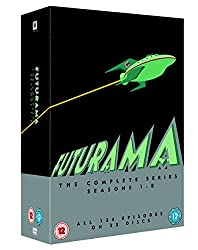 Futurama - The Complete Series (Season 1-8) [23 DVDs] [UK Import]