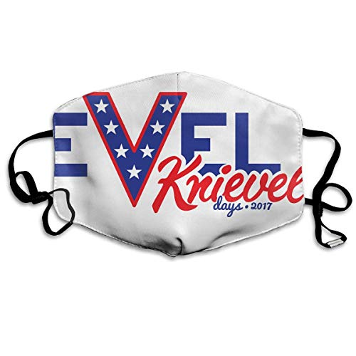 HUSDFS Mouth Maske Evel Knievel Days 2017 Mouth Mask Unisex Dust Protecting Mask Reusable Mask for Men and Women