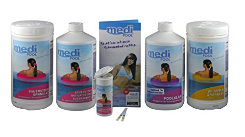 Set Aktivator (Poolpflege-Set Sauerstoff mediPOOL)