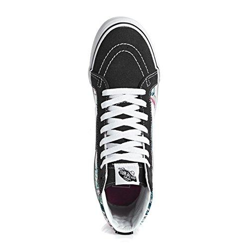 Vans Ua Sk8-Hi, Chaussures en Forme de Bottines Femme, Gris, Taille Multicolore