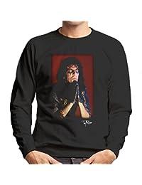 Tony Mottram Official Photography - Alice Cooper Praying Hands Men's Sweatshirt
