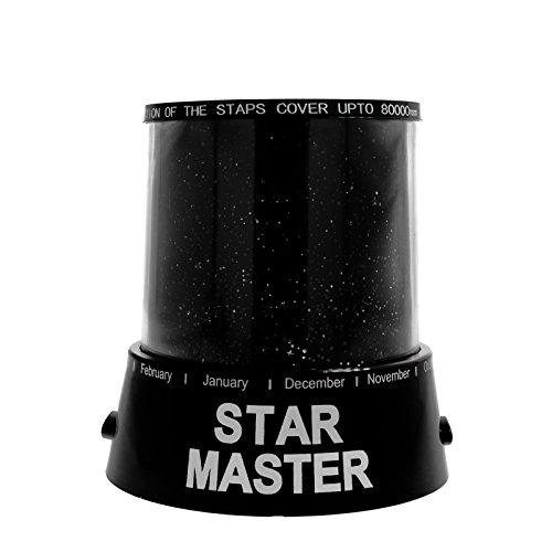 Smartfox LED Sternenhimmel Projektor Nachtlicht Nachtleuchte Babylicht Schlaflicht Einschlafhilfe Lampe Sky Star Master