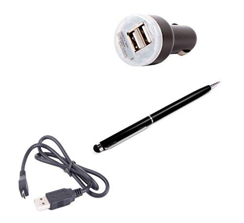 Smartphone-Kit für Hisense X1: Eingabestift + Auto-Ladestecker + Mirco-USB-Datenkabel