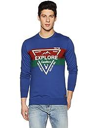 Amazon Brand - Symbol Men's Color Block Sweatshirt