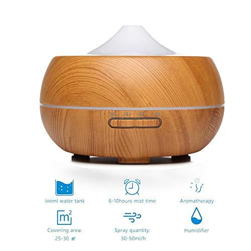 Difusores de aceite esencial de grano de madera