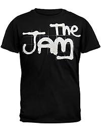 El objetivo de mermelada negro Logo camiseta q7JBD