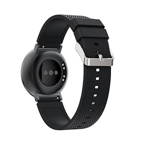 Kaiki für Huawei Honor S1 Armband,Neue Art- und Weisesport-Silikon-Armband-Bügel-Band für Huawei Honor S1 (Black)