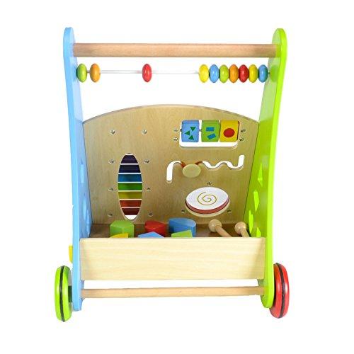 Lauflernwagen für Babys aus Holz von boppi® - Musik - 4