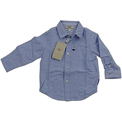 Del bebé Armani palo de golf para niños color azul y blanco de vestir camiseta de manga corta para 100% cuero genuino de caja de regalo de lujo SZ 9 m palo de golf