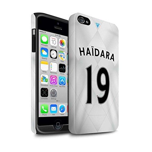 Offiziell Newcastle United FC Hülle / Matte Harten Stoßfest Case für Apple iPhone 4/4S / Pack 29pcs Muster / NUFC Trikot Away 15/16 Kollektion Haïdara