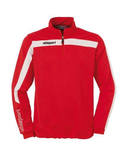 uhlsport Tops LIGA 1/4 Zip, rot/weiß, XL, 100208701 (Neue Herren Union-anzug)
