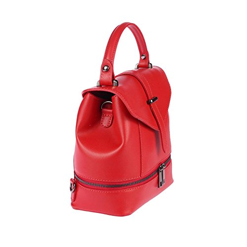 OBC Only-Beautiful-Couture, Borsa a zainetto donna blu Hellblau ca.: 22x23x12 cm (BxHxT) Rot