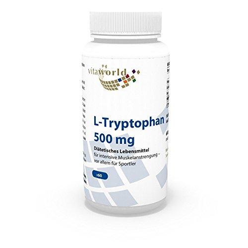 Vita World L-Tryptophan 500mg 60 Kapseln Apotheken Herstellung