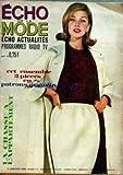 Telecharger Livres ECHO DE LA MODE No 1 du 03 01 1965 CET ENSEMBLE 3 PIECES EN PATRONS GRATUITS LA CHASSE A L APPARTEMENT LES INDIENS RACONTE PAR CLAUDE VEILLOT UNE FRANCAISE AU FAR WEST 15 (PDF,EPUB,MOBI) gratuits en Francaise