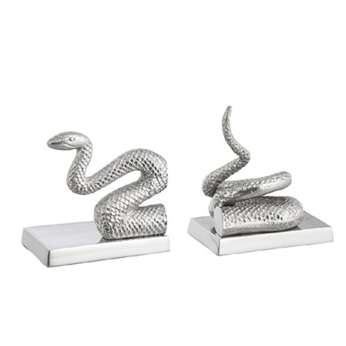 silea-1333-ext-cobra-3049-juego-de-2-sujetalibros-de-aluminio-gris
