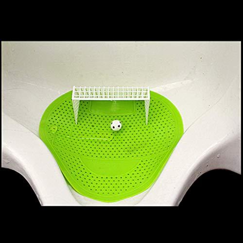 LOVEQIZI Almohadilla Libre para Salpicaduras de urinario - 1 Pieza de fútbol Divertido Fútbol Estilo de Objetivo Objetivo Orinal Filtro de Pantalla Mat Pad