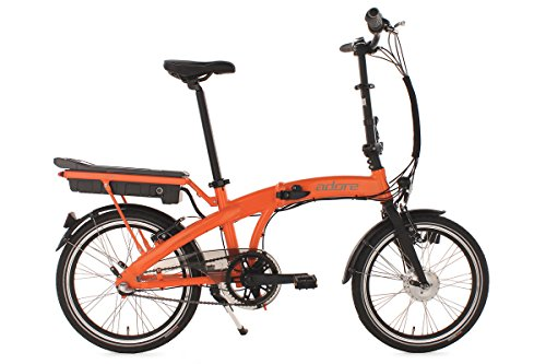 "Alu Faltrad Pedelec ADORE Zero E-Bike 20"" orange 3-Gang Nexus 250 Watt Li-Ion 36V/6,6 Ah"