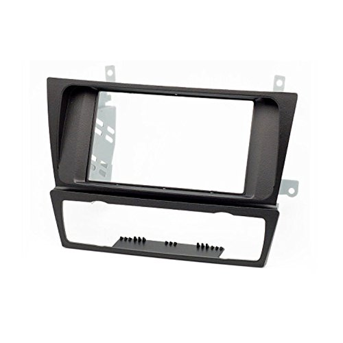 carav 11-125 Doppel DIN Autoradio Radioblende DVD Dash Installation Kit für BMW 3er 3-Serie (E90/91/E92/E93) 2004-2012 Faszie mit 173 * 98 mm und 178 * 102 mm Serie Dash Kit