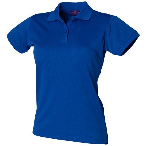 Henbury Damen Coolplus® Polo-Shirt / Polohemd, (Medium) (Royalblau) - Polo-shirts Frauen