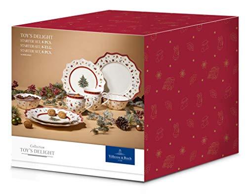 Villeroy & Boch Toy's Delight Tafelservice für zwei, 8-teilig, Premium Porzellan, Bunt