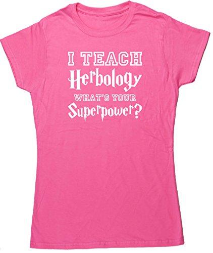 HippoWarehouse Damen T-Shirt Rose