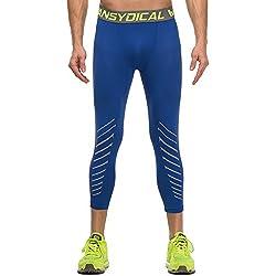 Calzoncillos Capri Leggings Hombre Competencia Running 3/4 Pants