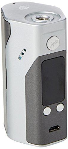 WISMEC Reuleaux RX200S Sistema Svapo Senza Nicotina con Grande Schermo, 200W, TC Mod, Argento/Grigio