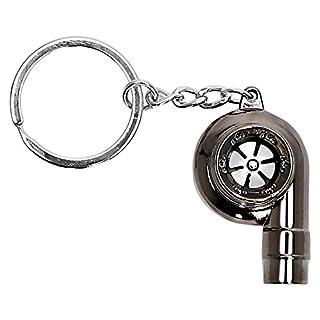 itimo Turbine Schlüsselanhänger Ring hohe Qualität echten Whistle Sound Auto Teil Modell Schlüsselanhänger Turbolader Schlüsselanhänger Metall Auto Turbo Schlüsselanhänger