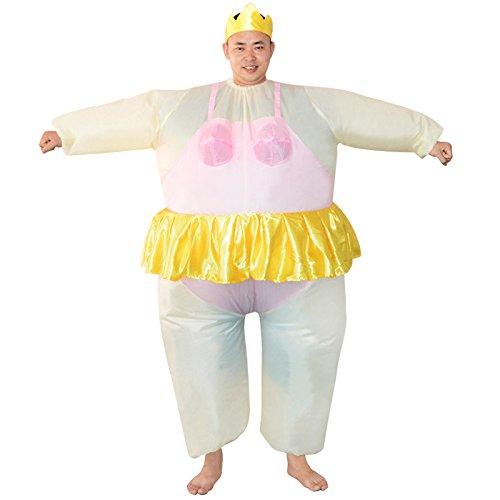 Aufblasbares Kostüm, Ballerina Halloween Bars Clubs Party Parks Veranstaltungen Fernsehprogramme SupermarktKleidung, Fit for Adult Männer Dame faschingskostüme