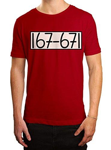 Kostüm Panzerknacker 01 Premium T-Shirt Verkleidung Karneval Fasching Herren Shirt, Farbe:Rot (Red L190);Größe:XXL