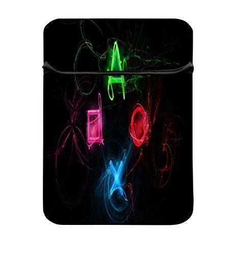 NEON Playstation Tasten 14zu 14,6Schutz Neopren mit Tragetasche aus Tasche für MacBook Pro 15/Macbook Pro 15Touch Bar & 35,6cm Acer Dell HP Lenovo Chromebook