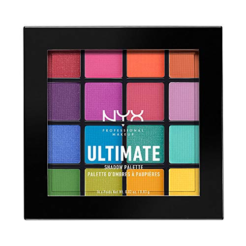 NYX ULTIMATE MULTI-FINISH SHADOW PALETTE Lidschatten- BRIGHTS (USP04) - Multi-make-up-palette