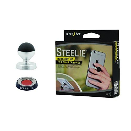 Nite Ize Halterung Steelie - HobKnob Kit für Smartphone, NI-STHMK-M1-R8