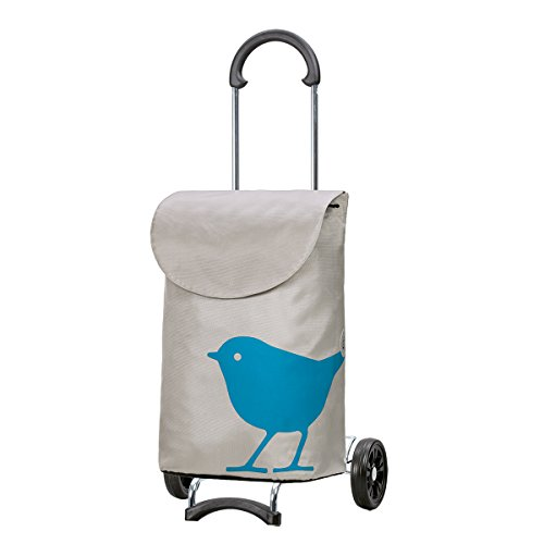 Original Andersen Scala Shopper mit Tasche Bird türkis
