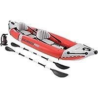 Intex Excursion Pro Kayak, Super Tough Laminate with Oars and Pump, 384x94x46cm