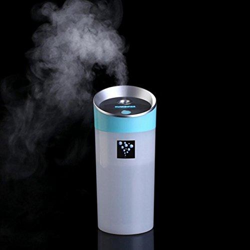 LN Anion Aroma Luftreiniger Auto Luftbefeuchter Nano Wasserz?hler Haushalt Mini Usb Luftbefeuchter,Blau