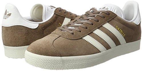adidas Gazelle, Sneaker Uomo, Marrone (Trace Brown/Off White/Footwear ...