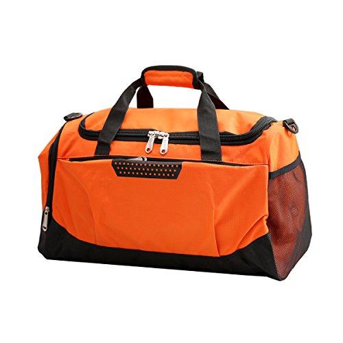 LAIDAYE Tragbare Unisex Sporttaschen Fitnesspaket Sporttasche Fitnesstasche Große Kapazität Handtasche 2