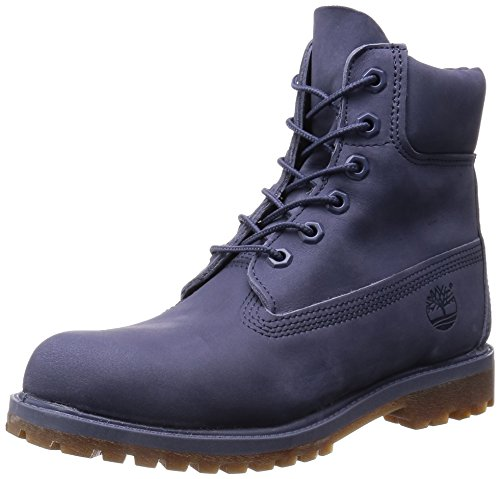 Timber Land earth Keepers 15,24 cm Premium Boot Folk Stone Grey pelle nabuccata Grigio (Folkstone Grey Nubuck)