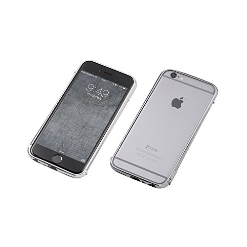 Deff The One Cleave Stainless Bumper for iPhone 6 (Polish Silver) Polish Silver