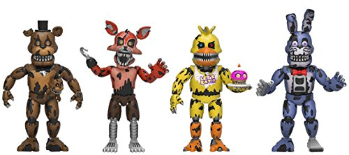Funko, 13722, 4 Spielfiguren, 5,1 cm, FNAF Five Night At Freddys 3