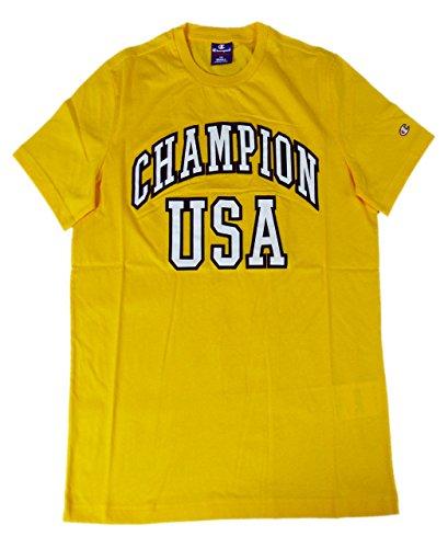 Champion T-Shirt Mann AU CHAMPION JA (Gelb) Geld