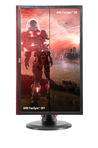 AOC G2460PF 24 inch 144 Hz LED Gaming Monitor 1 ms Response Time Height Adustable show Port HDMI DVI VGA presenters Adaptive Sync Vesa Black Products