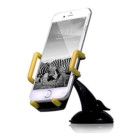 ALAIX Windschutzscheibe, Armaturenbrett Kfz-Halterung mit superstarkem Saugkraft für Smart-Handys und (Ebay Samsung S3 Mini)