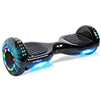 "BEBK Windgoo Hoverboard 6.5"" Self Balancing Electric Scooter with LED Light, UL2272 Safety Certified for Adults and Kids"