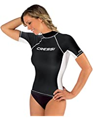 Cressi Damen Lady Black Rash Guard