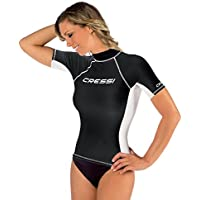 Cressi Rash Guard - Camiseta para mujer con filtro de protección UV UPF 50+
