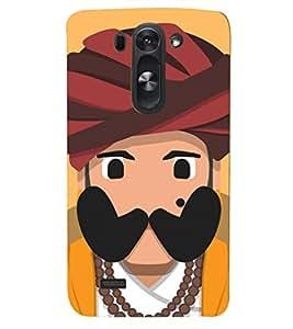 PRINTSHOPPII COOL JAAT Back Case Cover for LG G3 Beat::LG G3 Vigor::LG G3s::LG g3s Dual