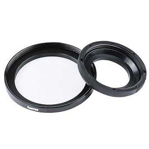 Hama Filter-Adapterring, Von 77,0 mm Objektiv auf 82 mm Filter, Metall, Schwarz