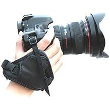 Beiuns - Hand Grip Strap de cuero (triángulo)- apretón de la mano de la correa de muñeca para DSLR SLR de la cámara cámaras réflex Canon Nikon Panasonic Sony Olympus